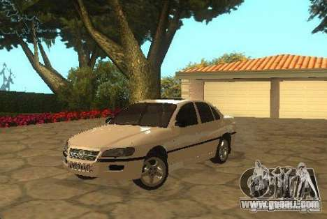 Opel Omega B 1997 for GTA San Andreas back left view