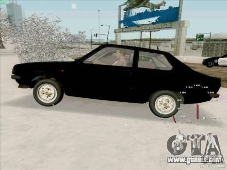 Dacia 1310 Sport for GTA San Andreas right view