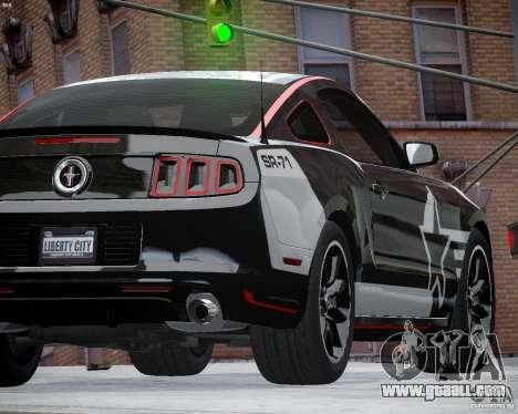 Ford Mustang Boss 302 for GTA 4 inner view