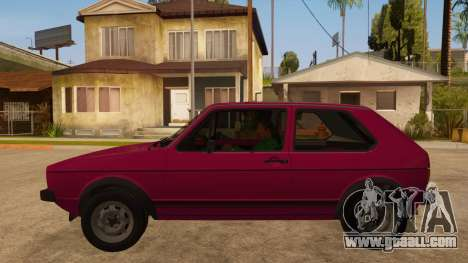 Volkwagen Golf MK1 Stock for GTA San Andreas right view