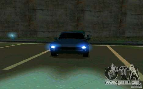 GAZ Volga 24 v2 (beta) for GTA San Andreas back view