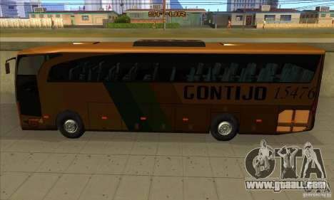 Mercedes-Benz Travego Gontijo for GTA San Andreas back left view