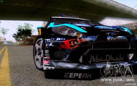 Ford Fiesta 2013 v2.0 for GTA San Andreas inner view