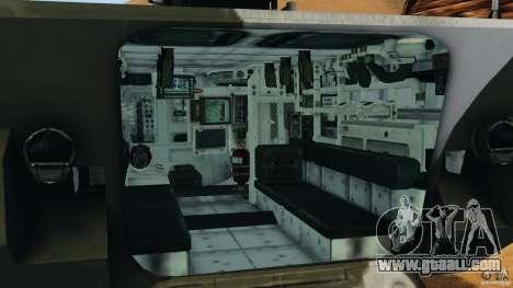 Stryker M1128 Mobile Gun System v1.0 for GTA 4 back view