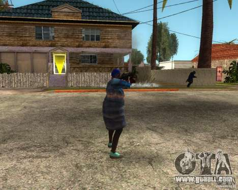 Gangsta Granny for GTA San Andreas second screenshot