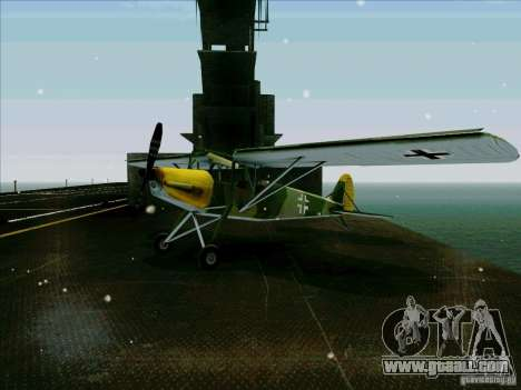 Fi-156 for GTA San Andreas