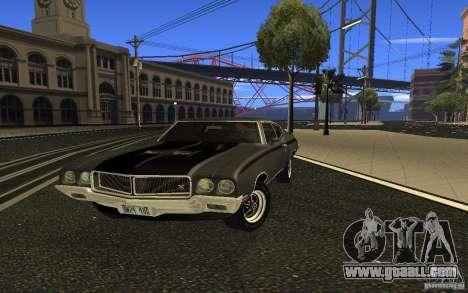 Buick GSX 1970 for GTA San Andreas
