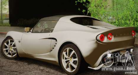 Lotus Elise 111s 2005 v1.0 for GTA San Andreas right view