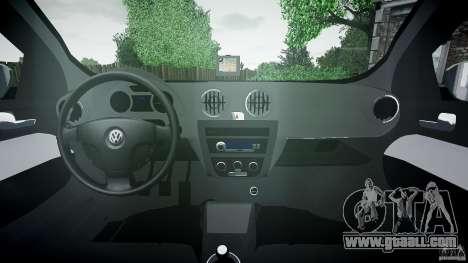 Volkswagen Voyage Comfortline for GTA 4 back view