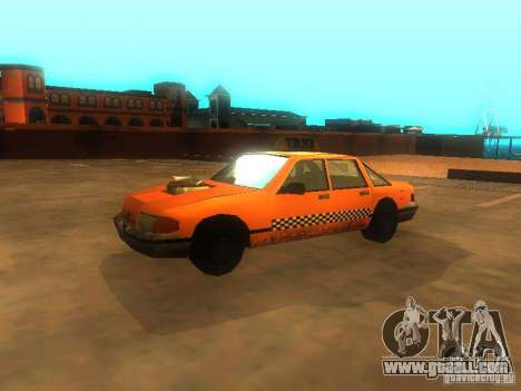 Crazy Taxi for GTA San Andreas left view