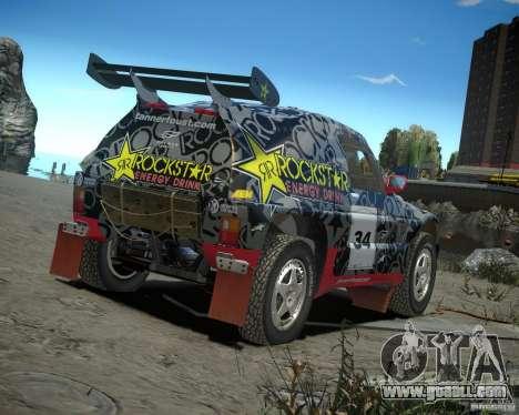 Mitsubishi Pajero Proto Dakar EK86 vinyl 1 for GTA 4 right view