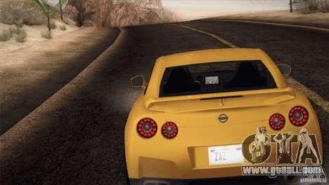 Nissan GTR Black Edition for GTA San Andreas left view