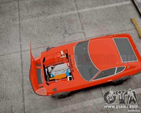 Nissan Fairlady Z HS30-240Z for GTA 4 back left view