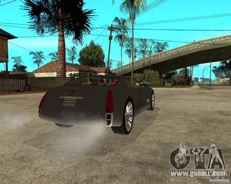 Cadillac Sixteen for GTA San Andreas back left view