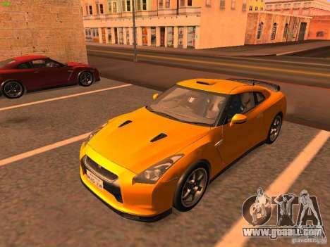 Nissan GT-R SpecV Black Revel for GTA San Andreas