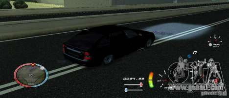 A unique speedometer for GTA San Andreas third screenshot