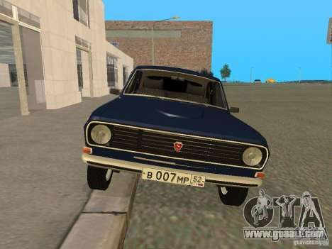 GAZ 24-10 Volga for GTA San Andreas left view