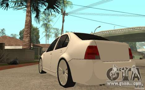 Volkswagen Bora PepeUz Edition for GTA San Andreas back left view