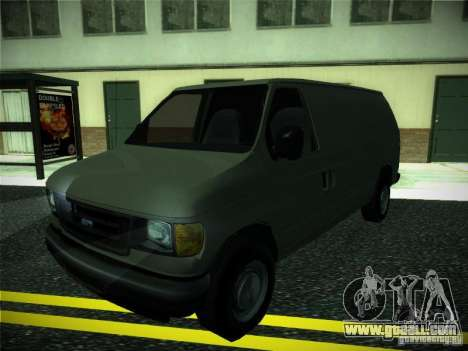 Ford E150 2000 for GTA San Andreas