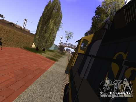 SD 40 UP BN Santa Fe for GTA San Andreas right view