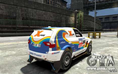 BMW X3 CC DAKAR for GTA 4