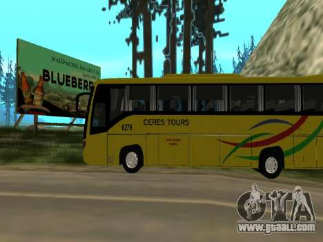 Yanson Viking - CERES TOURS 6279 for GTA San Andreas left view
