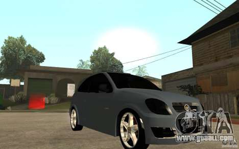 Chevrolet Celta VHC 2011 for GTA San Andreas back view