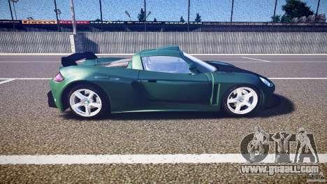 Porsche Carrera GT for GTA 4 inner view