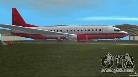 Boeing 737 for GTA Vice City left view