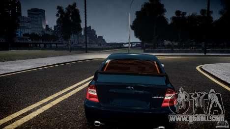 Subaru Legacy B4 GT for GTA 4 upper view