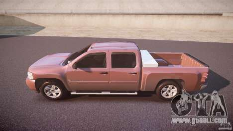 Chevrolet Silverado 1500 v1.3 2008 for GTA 4 left view