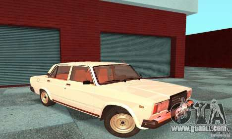 Vaz 2107 v. 3 for GTA San Andreas