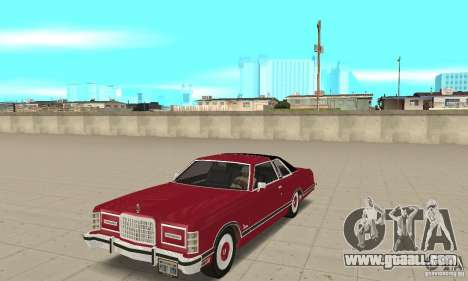 Ford LTD Landau Coupe 1975 for GTA San Andreas