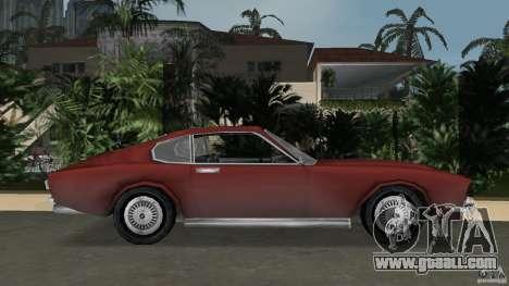 Aston Martin V8 Vantage 5.3 1969-1989 for GTA Vice City left view