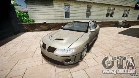 Pontiac GTO 2004 for GTA 4