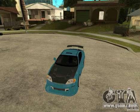 Hyundai Tibuton V6 GT for GTA San Andreas inner view