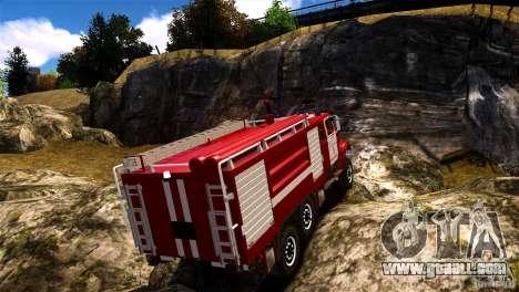 ZIL 433474 Firefighter for GTA 4 left view
