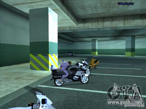 CopBike for GTA San Andreas side view