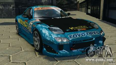 Mazda RX-7 RE-Amemiya for GTA 4