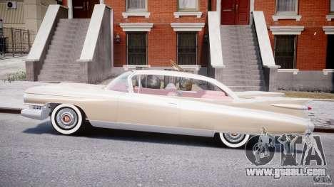 Cadillac Eldorado 1959 (Lowered) for GTA 4 left view