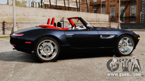 BMW Z8 2000 for GTA 4 left view