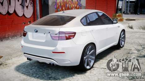 BMW X6M v1.0 for GTA 4 upper view