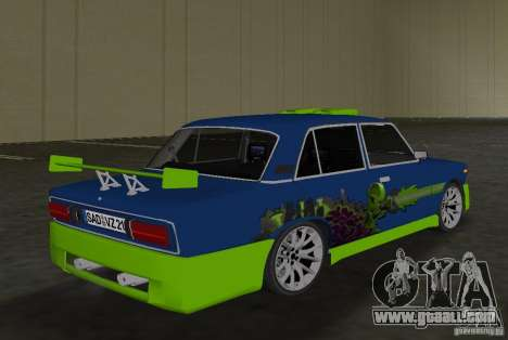 VAZ 2106 Tuning v3.0 for GTA Vice City right view
