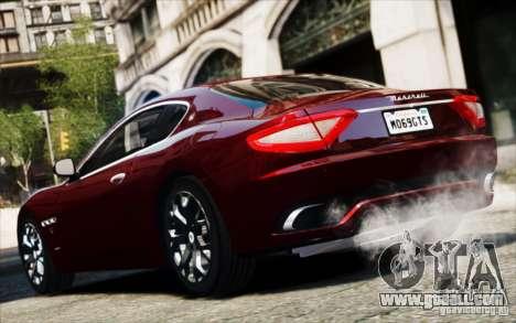 Maserati Gran Turismo S 2009 for GTA 4 right view