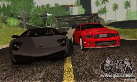 Lamborghini Murcielago LP 670-4 SV for GTA San Andreas inner view