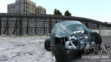 Baja Volkswagen Beetle V8 for GTA 4 inner view