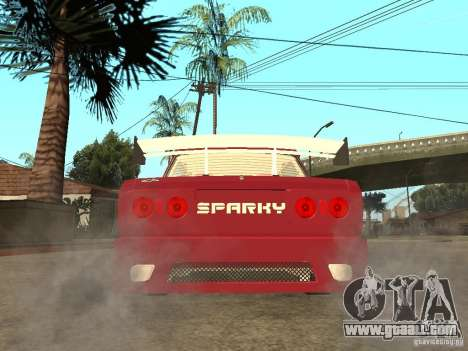 VAZ 2107 Sparky for GTA San Andreas back left view