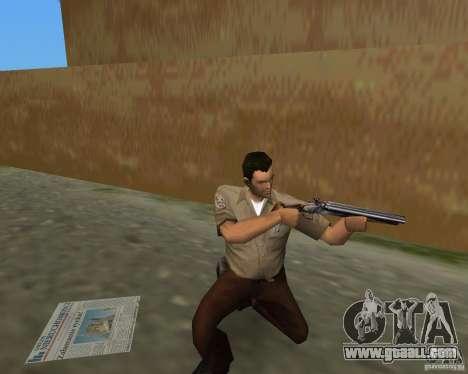 Pak weapons of S.T.A.L.K.E.R. for GTA Vice City