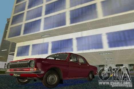 GAZ Volga 24 for GTA Vice City left view