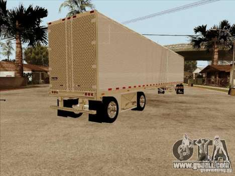 Trailer, Peterbilt 379 Custom for GTA San Andreas right view